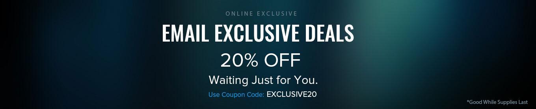 Email Exclusive Deals