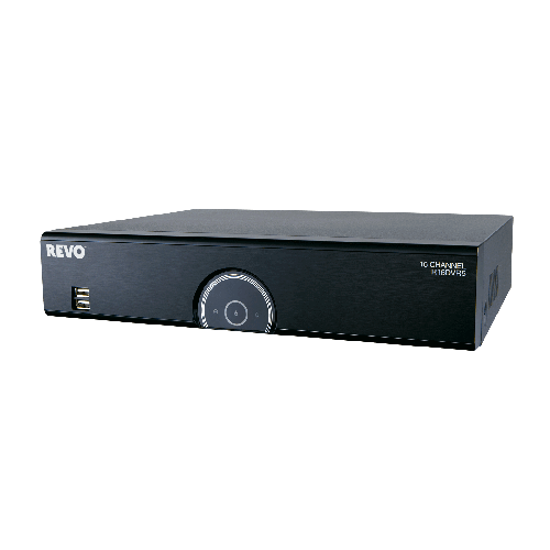 16 Ch. 3TB 960H DVR with 12 RJ12 Ports and 4 BNC Ports