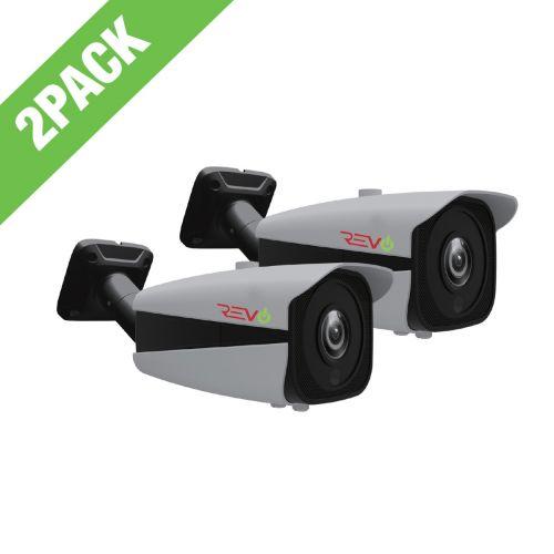 Aero HD 5 Megapixel Indoor/Outdoor Bullet Camera with Varifocal Lens (Pack of 2)