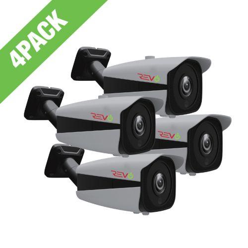 Aero HD 5 Megapixel Indoor/Outdoor Bullet Camera with Varifocal Lens (Pack of 4)