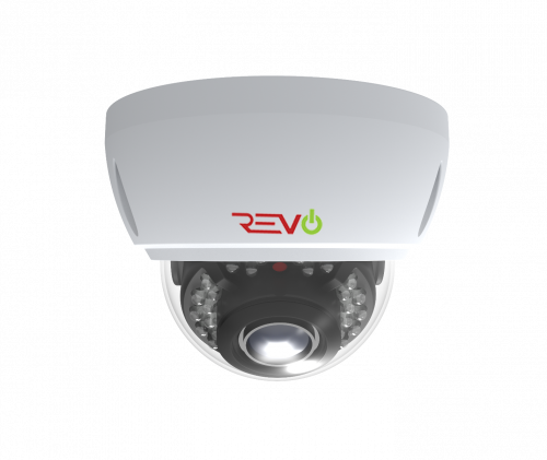 REVO Aero 5 Megapixel Vari-focal lens Indoor/Outdoor IR Vandal Dome Camera with 60 Siamese Cable