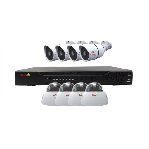 Aero HD 1080p 16 Ch. Video Security System with 8 Indoor/Outdoor Cameras