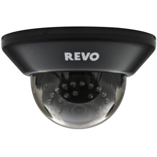 700 TVL Black Color Indoor Dome Surveillance Camera with Night Vision