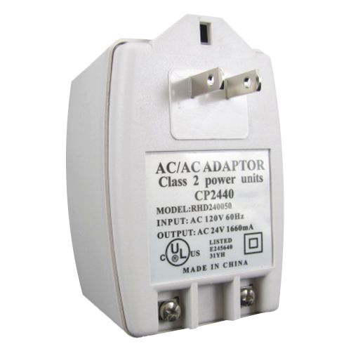 24VAC 40VA Transformer Power Supply