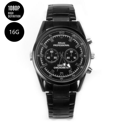 Wrist Watch Camera with Built-in Covert Camera