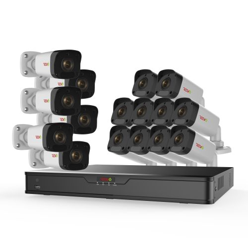 Ultra HD 16 Ch. 4TB NVR Security System & 16 2MP  Bullet Cameras
