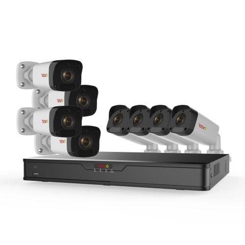 Ultra HD 16 Ch. 2TB IP NVR Surveillance System & 8 2MP Bullet Security Cameras