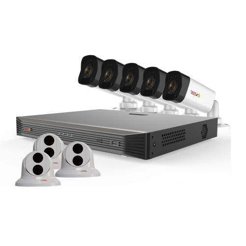 Ultra HD 16 Ch. 3TB NVR Surveillance Camera System with 8 4MP Security Cameras