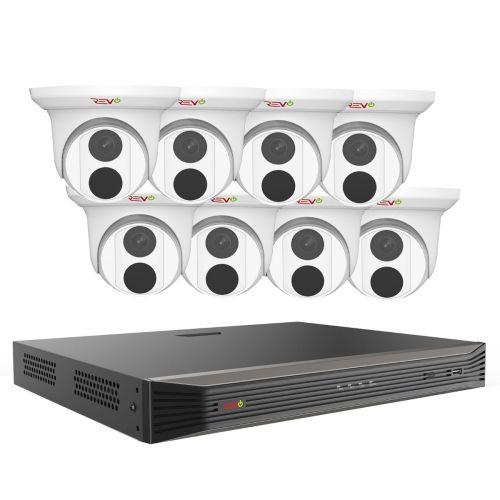 REVO ULTRA 16CH, 3TB with 8 x 5MP Starlight Turret Cameras