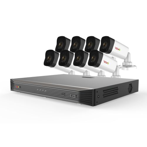 Ultra HD 16 Ch. 4TB NVR Video Surveillance System & 8 4MP Bullet Cameras