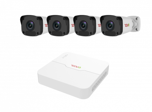 Ultra™ HD Surveillance System with 4 Channel NVR