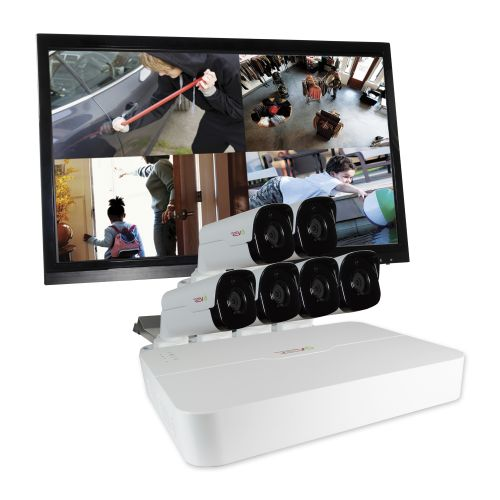 Ultra™ HD Security System with 6 Bullet Security Cameras