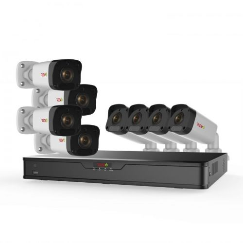 Ultra HD 8 Ch. 2TB IP NVR Surveillance System & 8 2MP Bullet Security Cameras