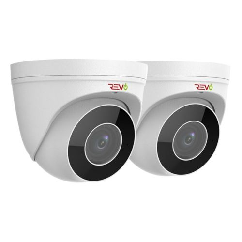 REVO ULTRA True 4 K IR Indoor/Outdoor Turret Camera with 2.8 to 12mm motorized lens (Pack of 2)