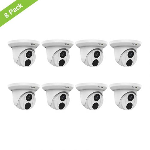 REVO ULTRA 5MP Starlight Indoor/Outdoor Fixed Lens Turret Camera w/ 100' CAT5e Cable (Pack of 8)