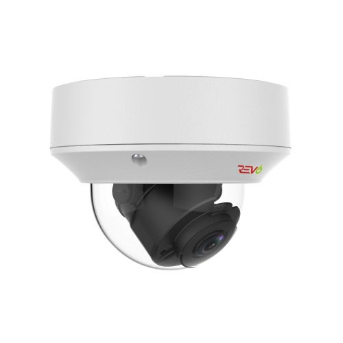 REVO ULTRA True 4 K IR Indoor/Outdoor Vandal Dome camera with 2.8 to 12mm motorized lens