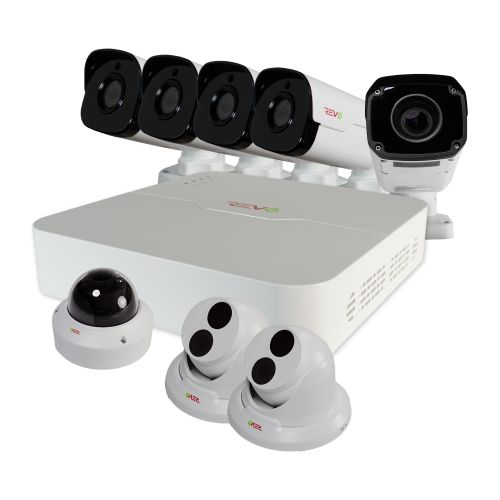 Ultra™ HD 8 Ch. Home surveillance System with 8 Security Cameras