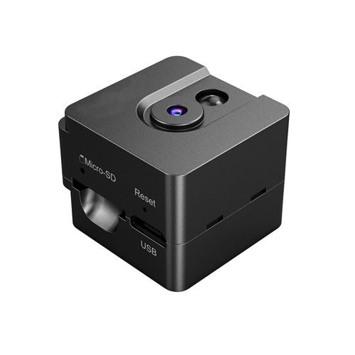 720p Mini Cube Camera with Built-in SD Card