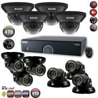 16 Channel DVR Surveillance System with 700TVL Security Cameras