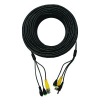 100' BNC Coaxial Cable Combined with 2.1mm Power and RS-485 Data Cables