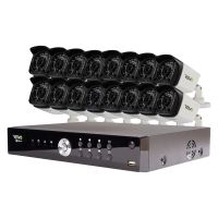 Aero HD 1080p 16 Ch. Security Camera System with 16 Bullet Cameras
