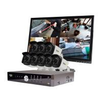 Aero HD 1080p 16 Ch. Video Security System with 8 Bullet Cameras