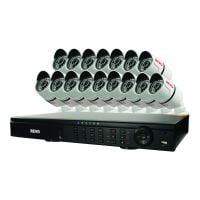 T-HD 16 Channel DVR HD Surveillance System with 16 Bullet Cameras
