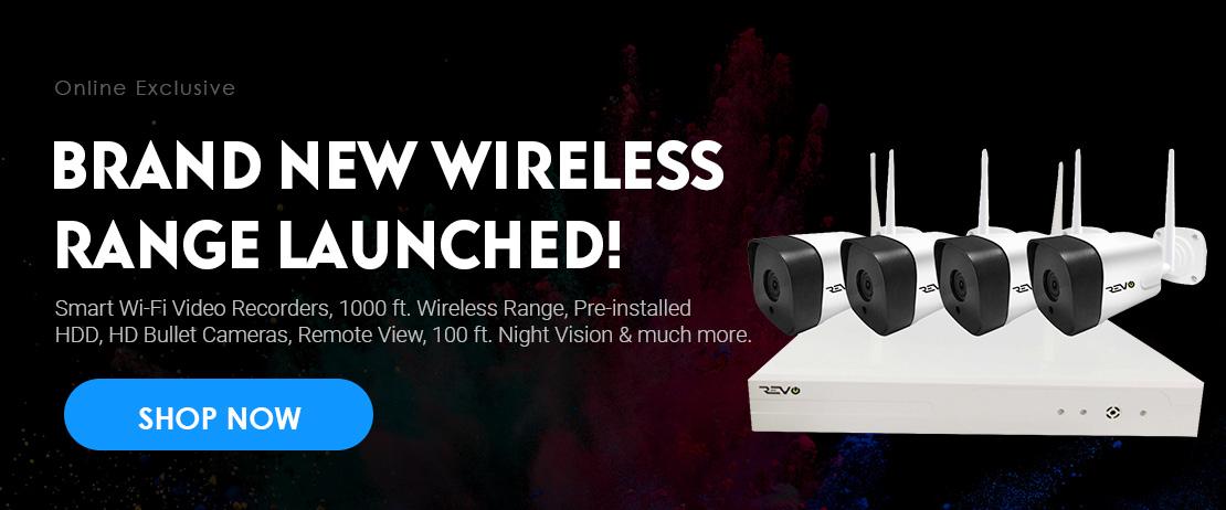 Brand New Wireless Range