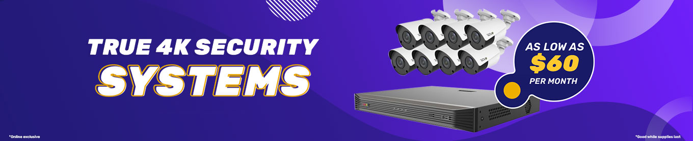 20% off true 4k systems